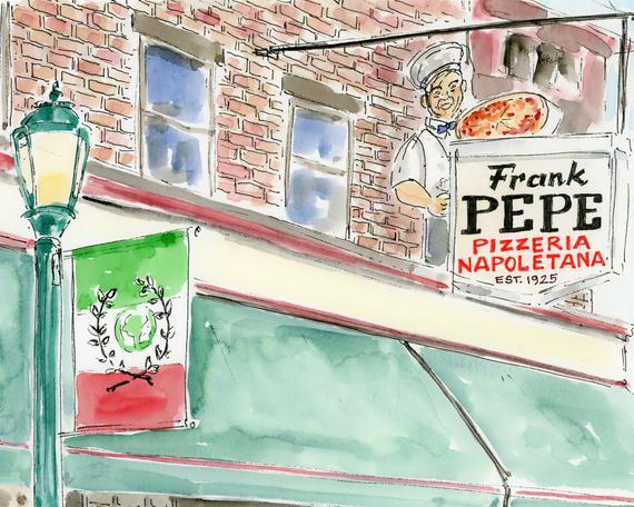New Haven Series: Frank Pepe's Pizza