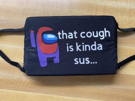 Among Us/SUS/Cough/Face Mask