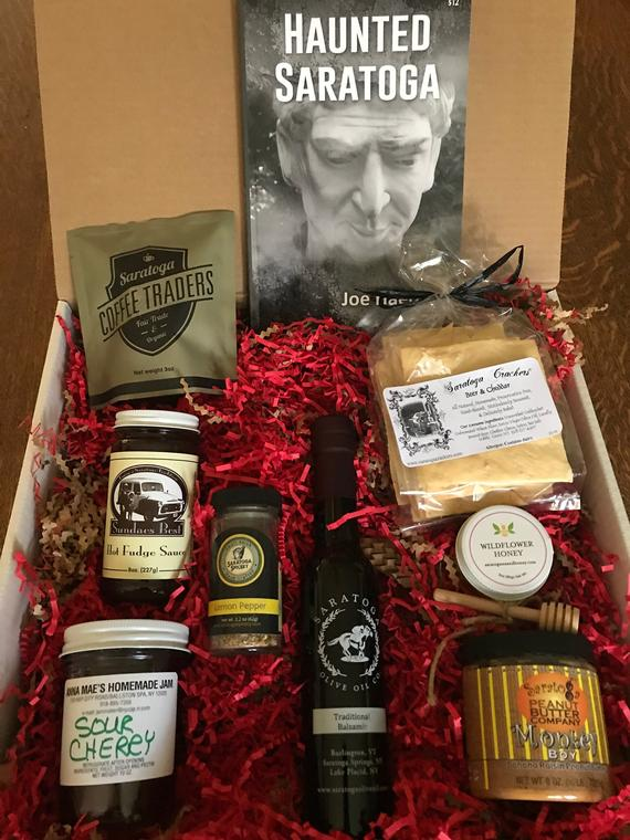 """Saratoga Springs, New York """"Food Tour in a Box"""""""