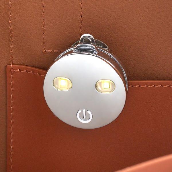 Lotta-Lite Chrome Purse Light