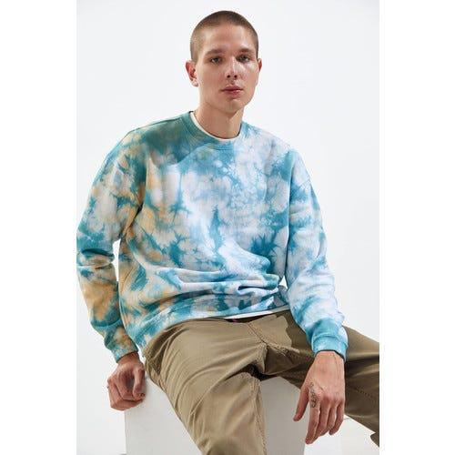 Standard Cloth Eisley Tie-Dye Crew Neck Sweatshirt