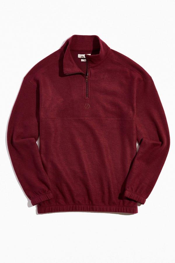 Standard Cloth Foundation Fleece Quarter-Zip Sweatshirt
