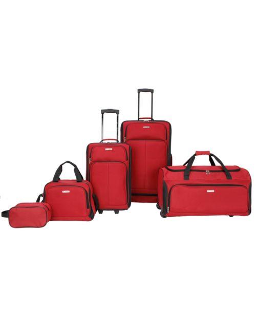 Ridgefield 5 Pc. Softside Luggage Set, Created for Macy's