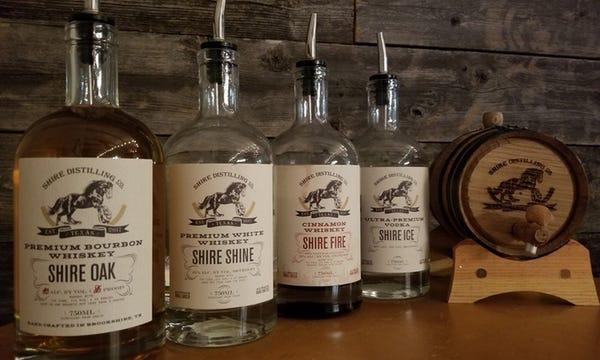 Shire Distilling Co. Tour