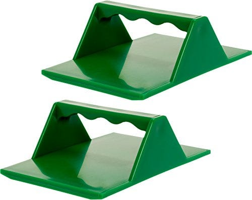 2 Pack Tamales Masa Spreaders w/Easy Grip Ergonomic Handle for Faster Better and Easier Results by Mindful Design | New and Improved (Green)