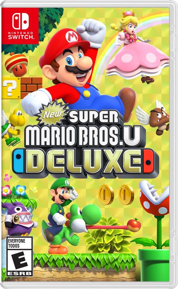 Super Mario Bros U Deluxe, Nintendo, Nintendo Switch, 045496592691