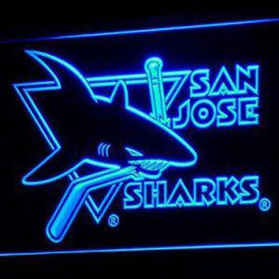 San Jose Sharks Neon LED Lights & Signs