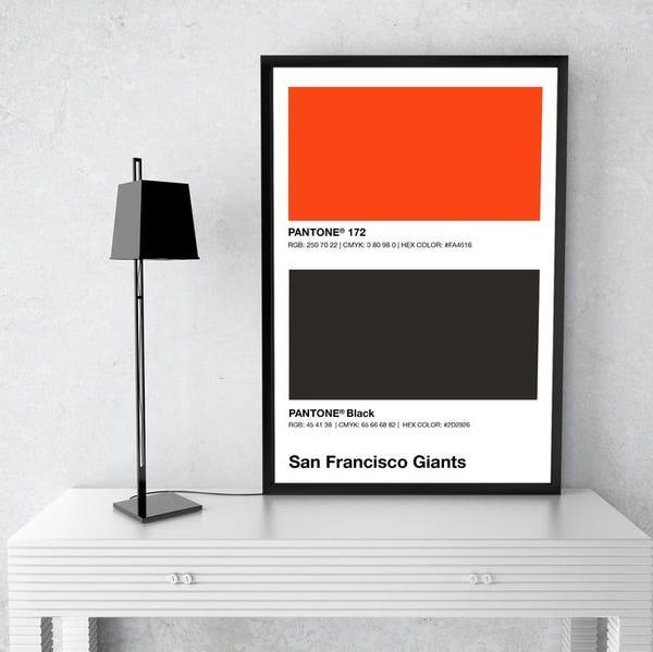 San Francisco Giants | Pantone Print