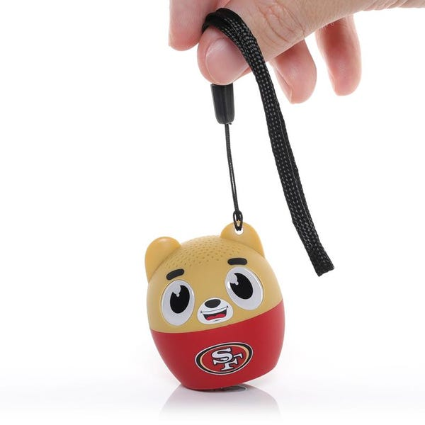 49ers Team Bitty Boomers Wireless Blue Tooth Speaker