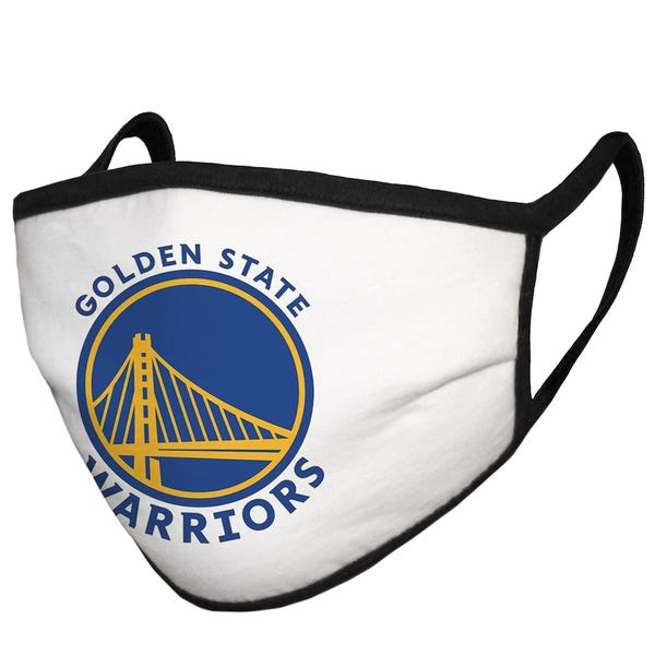 Golden State Warriors Adult Cloth Face Covering