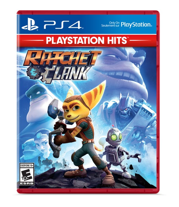 Ratchet & Clank - PlayStation Hits, Sony, PlayStation 4, 711719523192