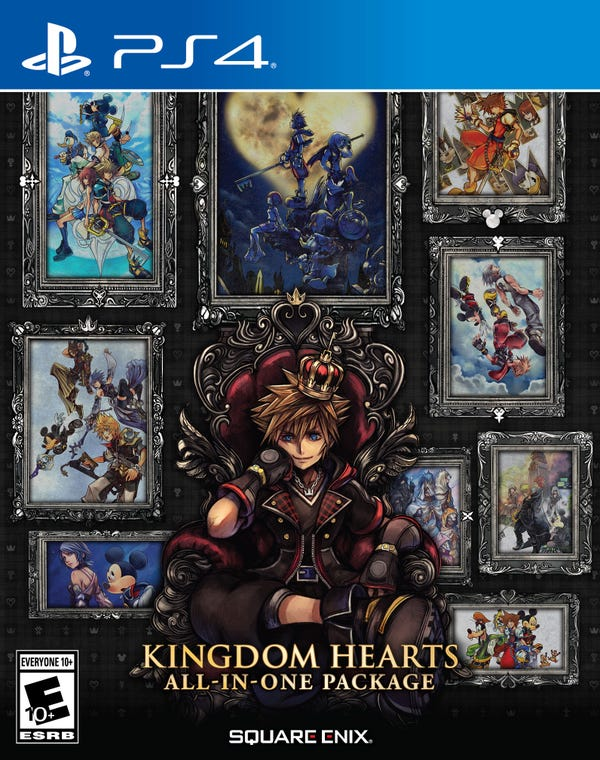 KINGDOM HEARTS All-in-One Package, Square Enix, PlayStation 4, 662248923789