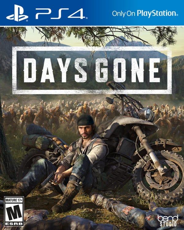 Days Gone, Sony, PlayStation 4, 711719504757