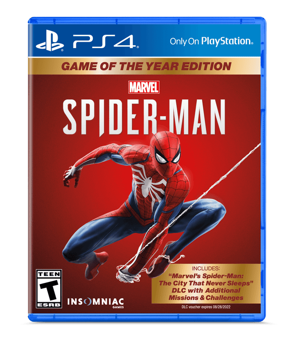 Marvel's Spider-Man, Game of the Year Edition, Sony, PlayStation 4, 711719529958
