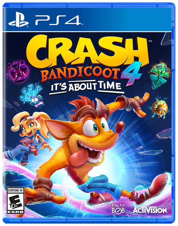 Crash Bandicoot 4 It's About Time, Activision, PlayStation 4