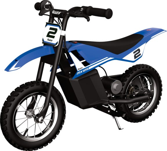 Razor Miniature Dirt Rocket MX125 Electric-Powered Dirt Bike
