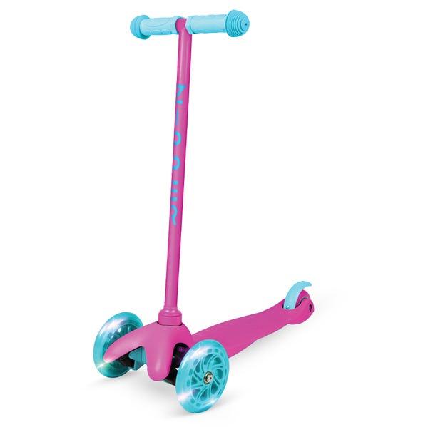 Zycom – Zipper Pink 3 Wheel Scooter with Light Up Wheels