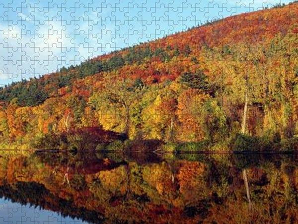 Autumn Colors Along Connecticut River Puzzle