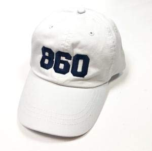 The Two Oh Three | The 860 Baseball Cap | White/Navy