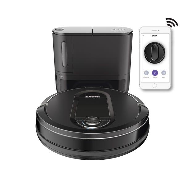 Shark IQ Robot Self Empty™ RV1000S, Robot Vacuum, Home Mapping, Self Cleaning Brushroll, Wi Fi