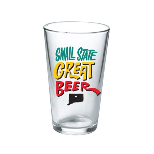 Small State Great Beer | Limited Edition Pint Glass