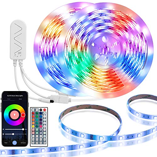 TaoTronics TT-SL215 LED Strip Lights, multicolor, 32 Feet