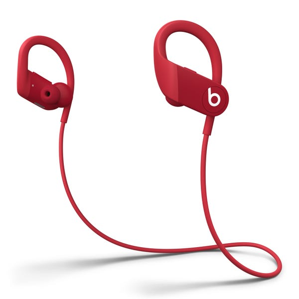 Powerbeats High-Performance Wireless Earphones with Apple H1 Headphone Chip - Red
