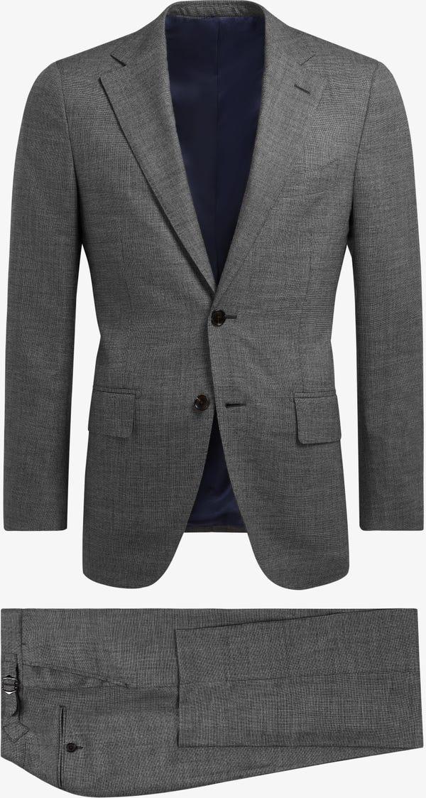 Mid Grey Lazio Suit (Full Canvas)