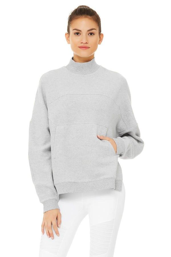 Segment Pullover - Dove Grey Heather