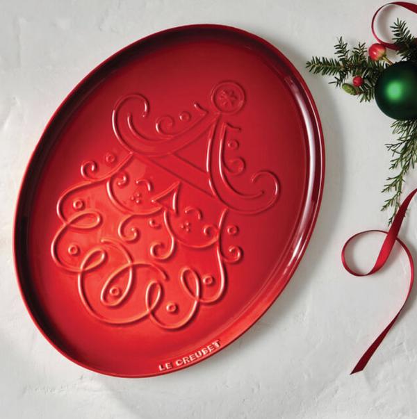 Noël Collection Santa Claus Platter