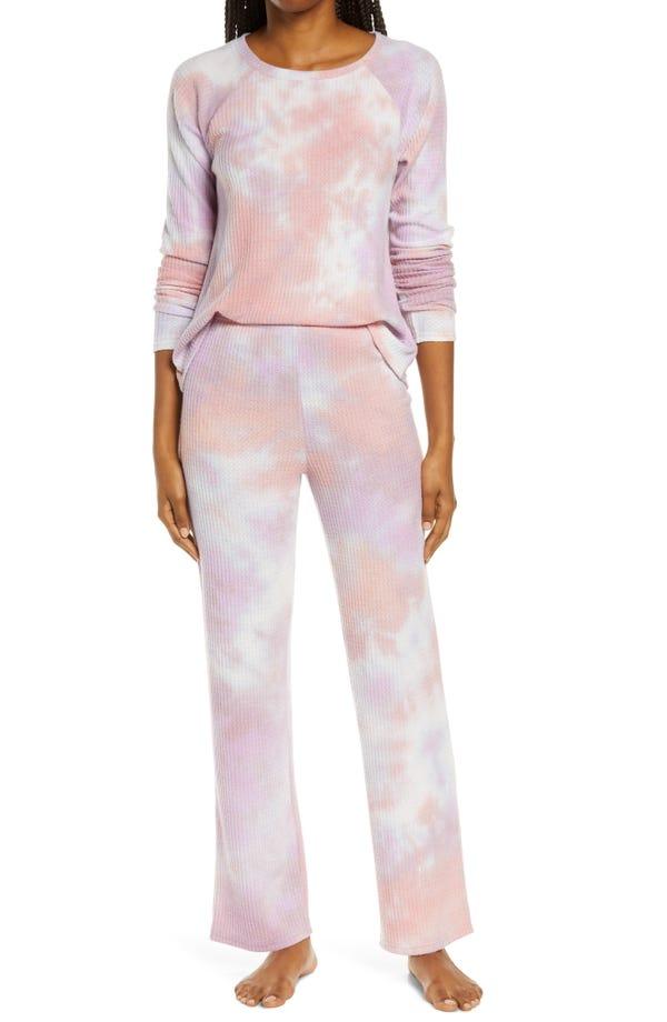 Saturday Morning Thermal Pajamas