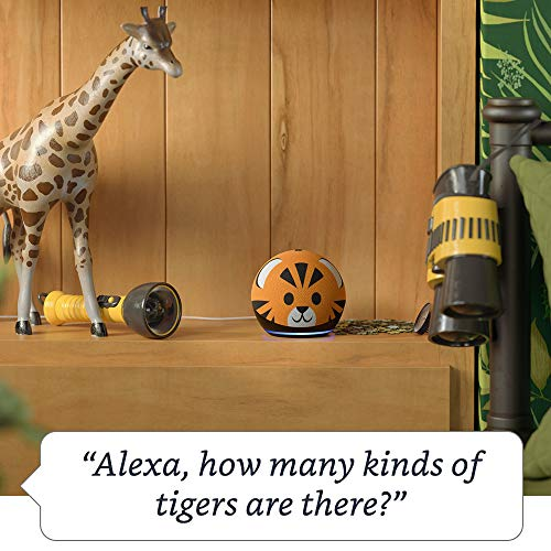 All-new Echo Dot (4th Gen) Kids Edition | Tiger