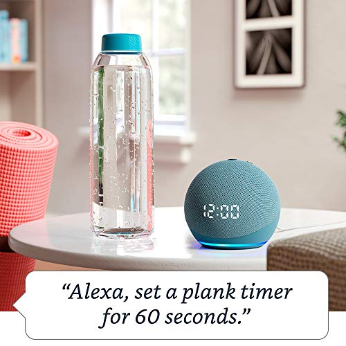 All-new Echo Dot (4th Gen) | Smart speaker with clock and Alexa