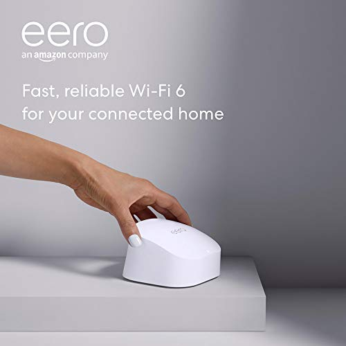 Introducing Amazon eero 6 dual-band mesh Wi-Fi 6 router