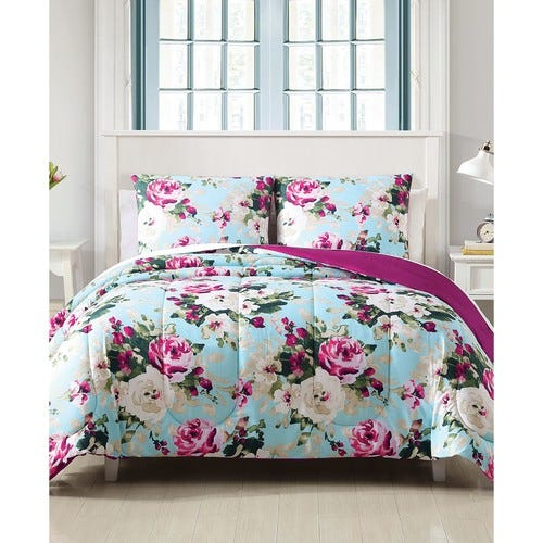 Ambrosia 3-Pc. Reversible Full/Queen Comforter Set