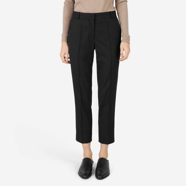 The GoWeave™ Crop Trouser - Black