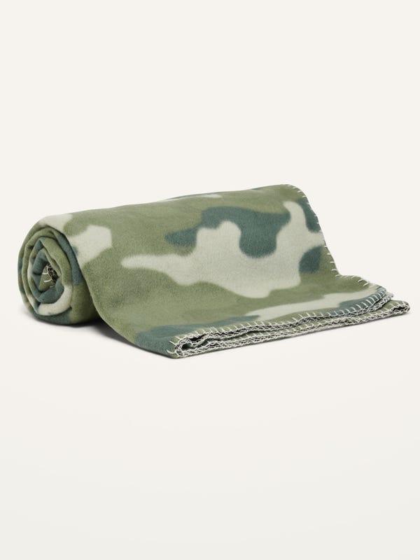 Cozy Patterned Performance Fleece Blanket
