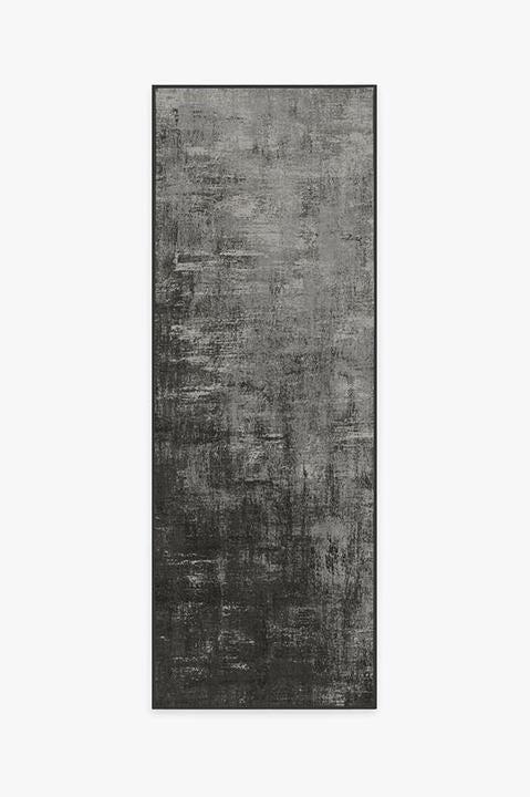 Impasto Greyscale Rug