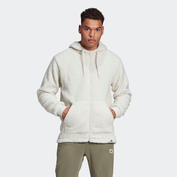 Brilliant Basics Sherpa Full-Zip Hoodie