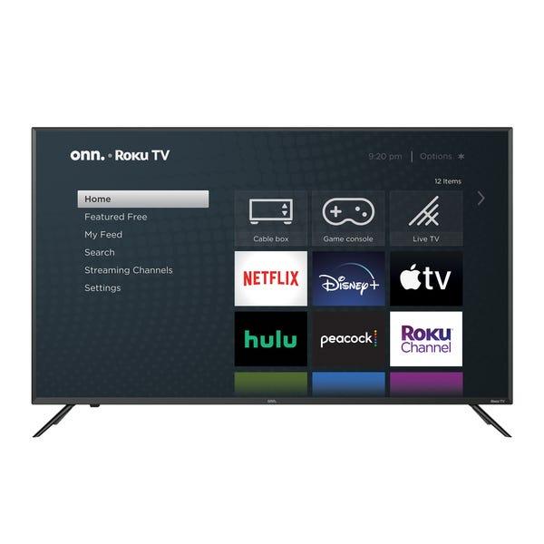 "onn. 50"" Class 4K UHD (2160P) LED Roku Smart TV HDR (100012585)"