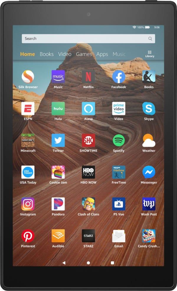 """Amazon - Fire HD 10 2019 release - 10.1"""" - Tablet - 32GB - Black"""