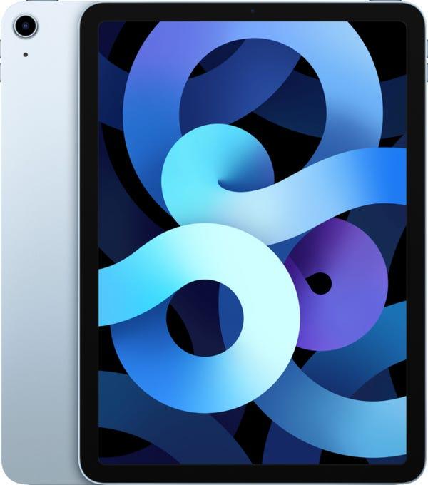 Apple - iPad Air (Latest Model) with Wi-Fi - 64GB - Sky Blue