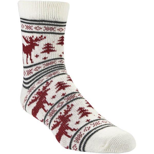 Magellan Outdoors Lodge Moose Stripe Socks