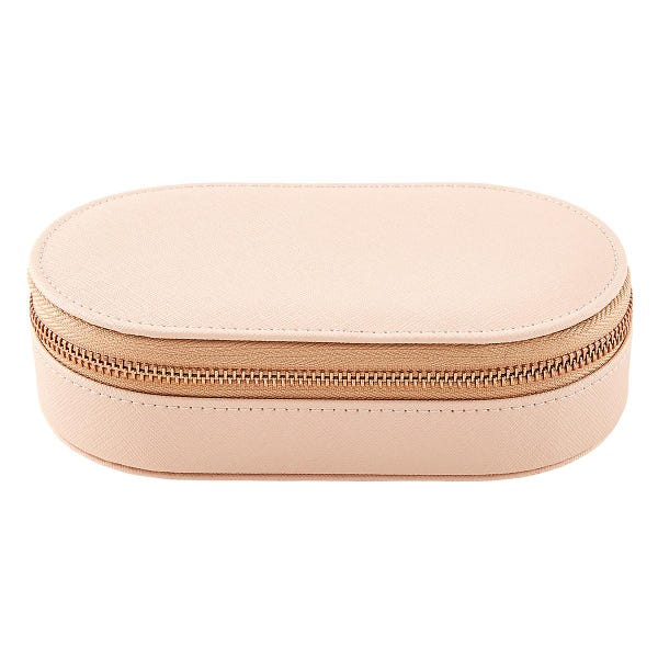 Stackers Blush Oval Jewelry Case