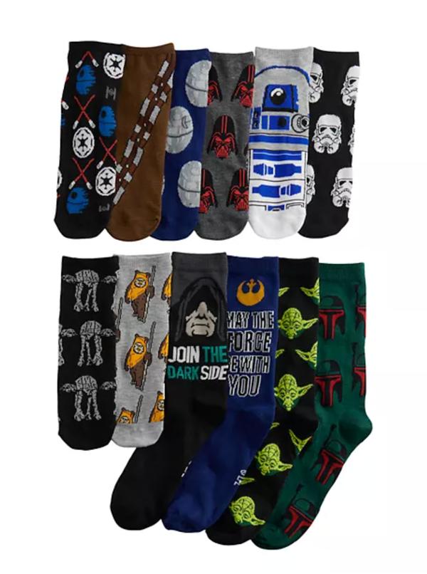 Men's 12 Days of Socks - Star Wars