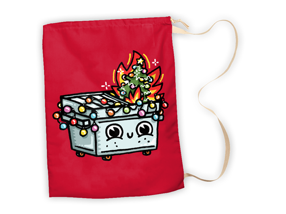 Most Wonderful Time of the Year Large Gift Sack