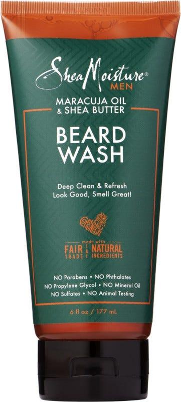 SheaMoisture Maracuja Oil & Shea Butter Beard Wash