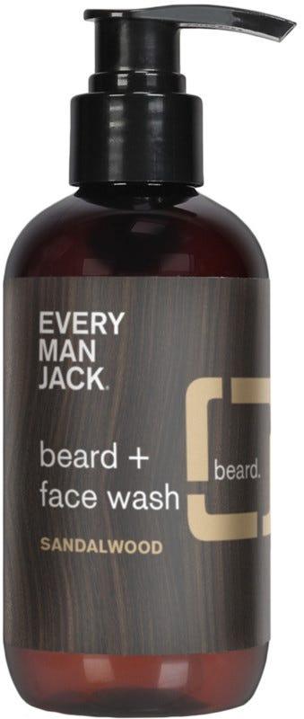 Every Man Jack Sandalwood Beard & Face Wash