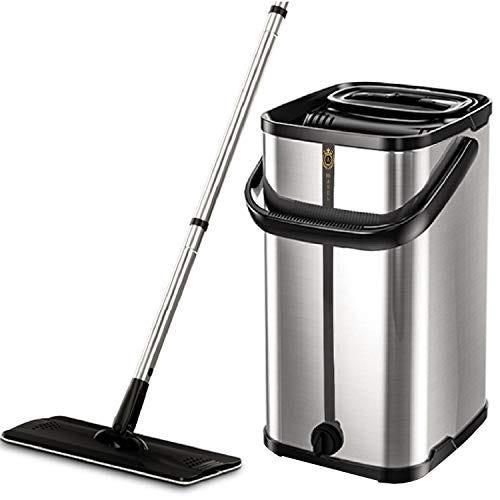 Squeeze Flat Floor Mop and Bucket Set