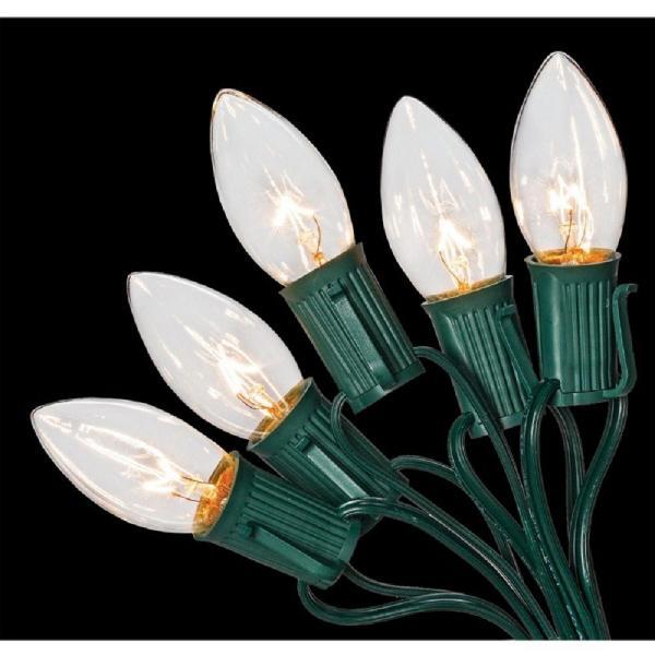 25-Light Clear Incandescent String Lights